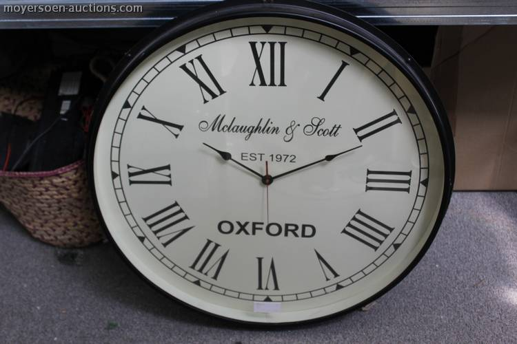 1 Mclaughlin Scott Oxford Wall Clock With Me
