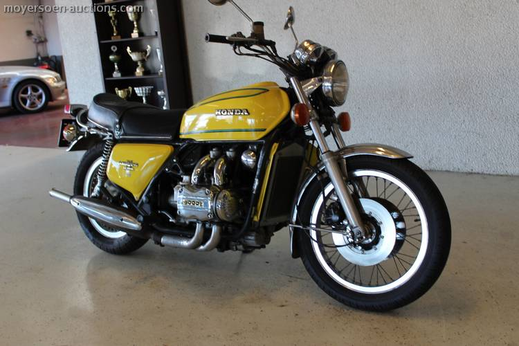 1977 HONDA Goldwing GL1000 1st inscription: