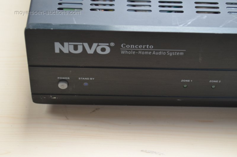 1 NUVO CONCERTO multi-room amplifier with wall-