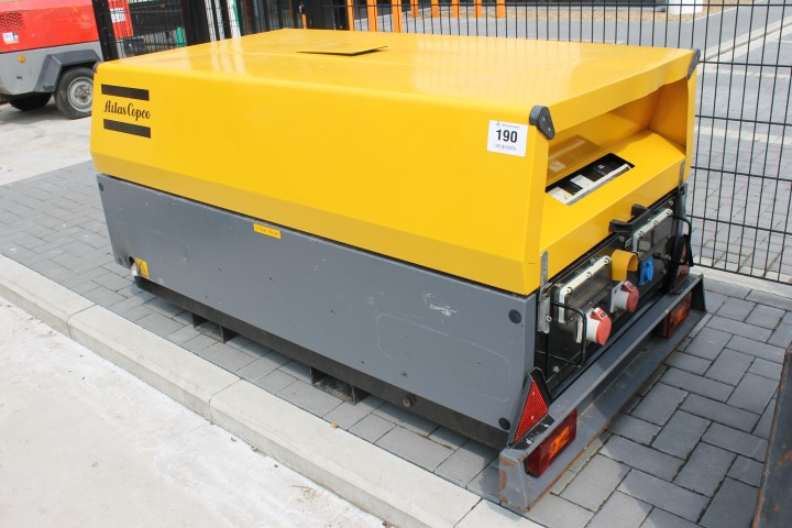 1 GENERATOR ATLAS COPCO type QAX 20, year: 2005