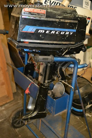1 outboard motor MERCURY 4 HP, without waterpum