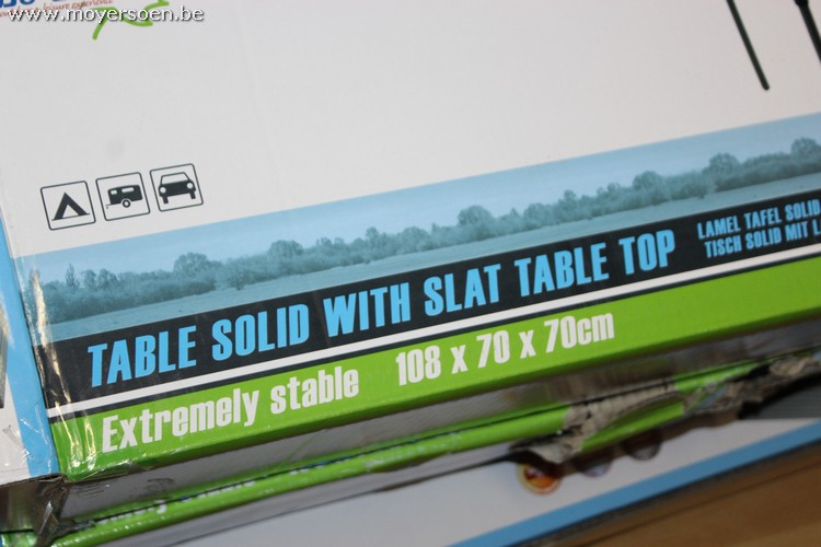 2 camping tables bo camp solid provided with